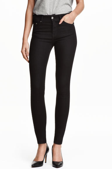 Skinny Regular Jeans - Nero -  | H&M IT