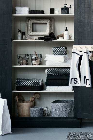Essuie-mains - Blanc/Mme - Home All | H&M FR
