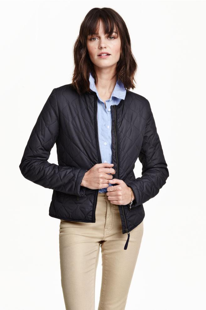 2432edaab6 Steppelt dzseki - Sötétkék - NŐI | H&M ...