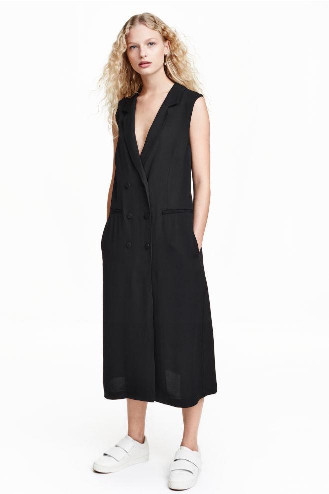 7eea8b59c491 Pinafore dress - Black - Ladies | H&M ...