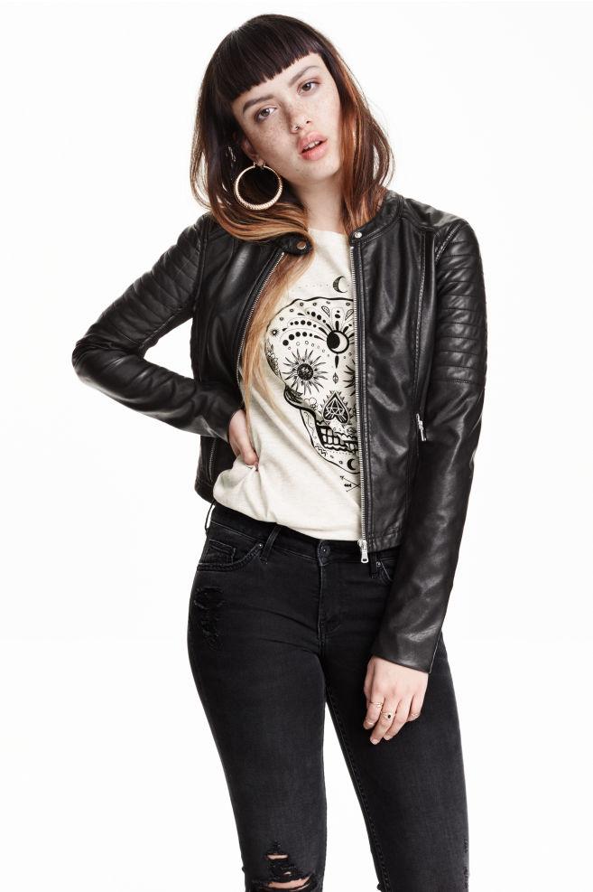 c4f1e8da42 Motorosdzseki - Fekete - | H&M ...