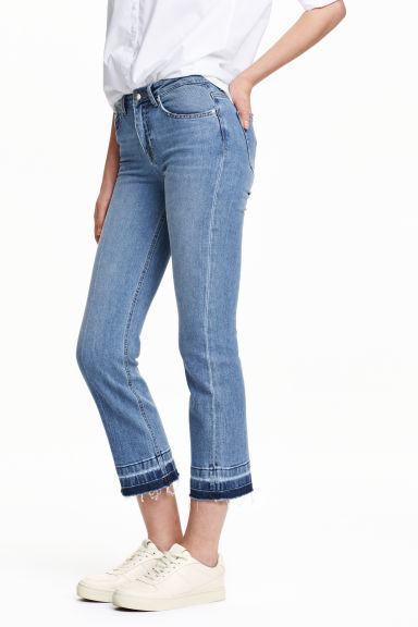 Kick Flare Jeans - Light denim blue - Ladies | H&M GB