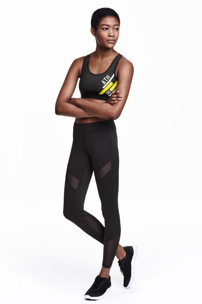 3ccce25c52815 Sports tights - Black - Ladies   H&M ...