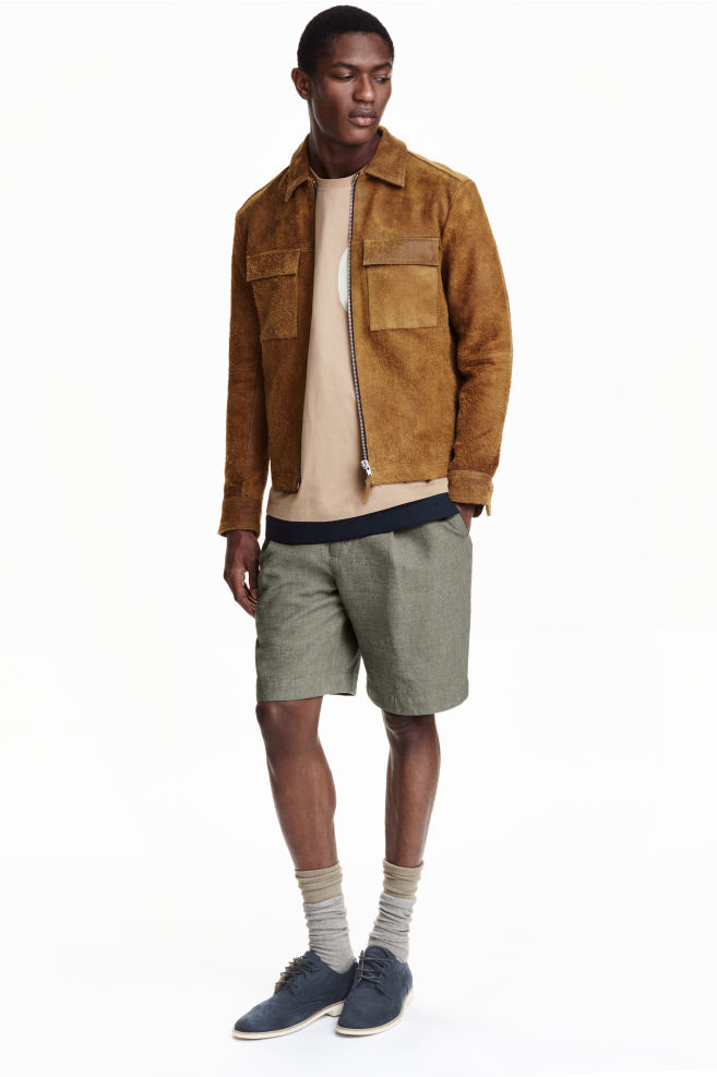 3bddef99c65d Suede jacket - Camel - Men