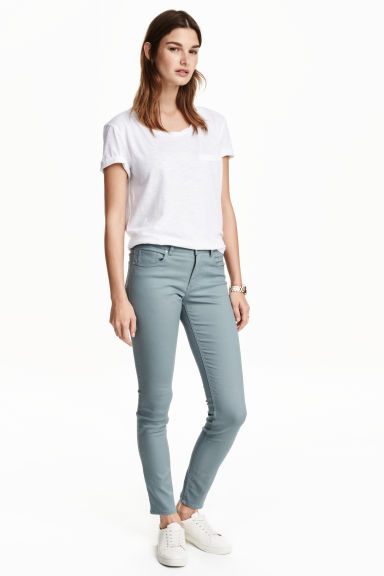 Superstretch trousers - Light turquoise - Ladies | H&M IE