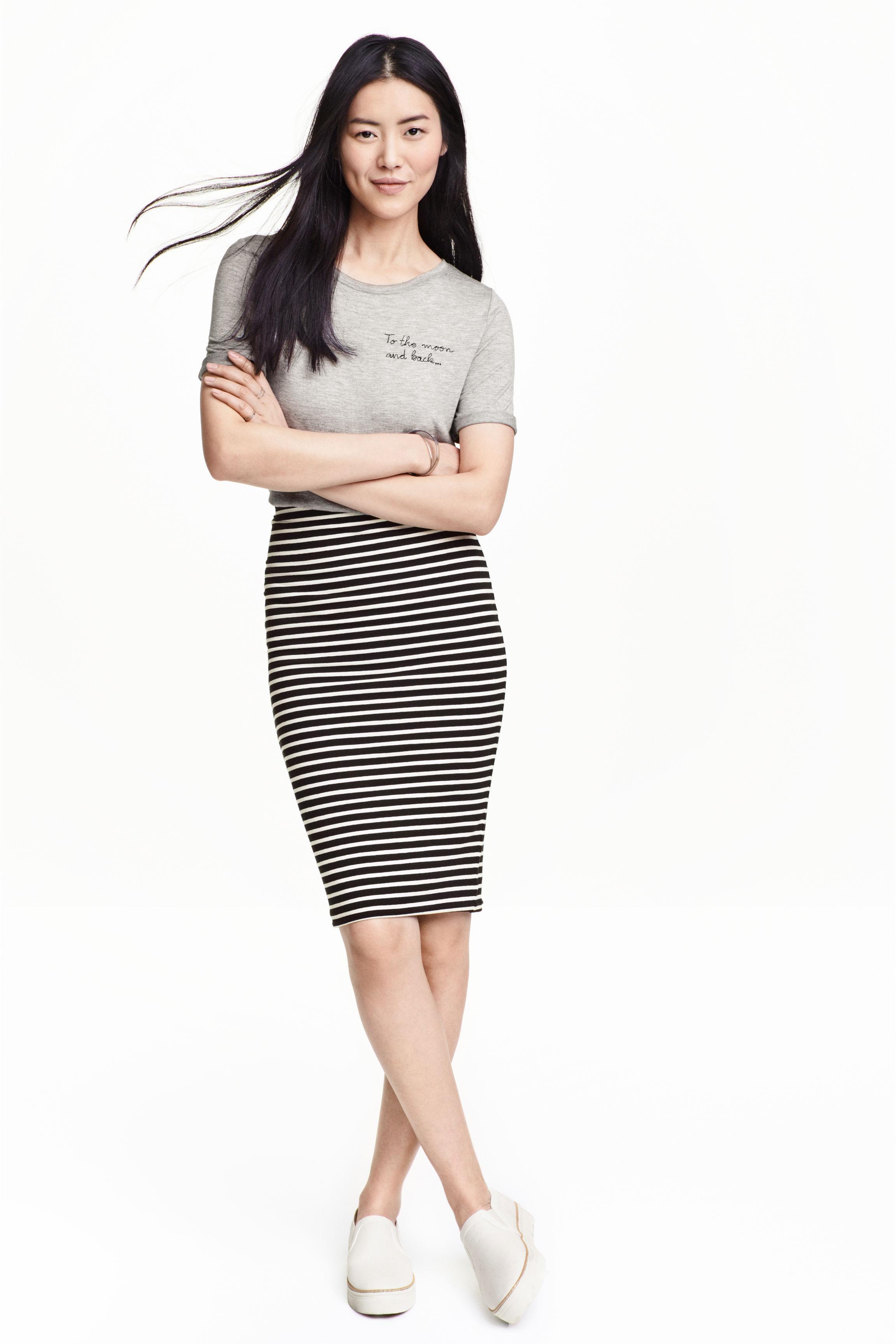 6d3f70288 Como Combinar Una Falda Lapiz Blanca | Wig Elegance