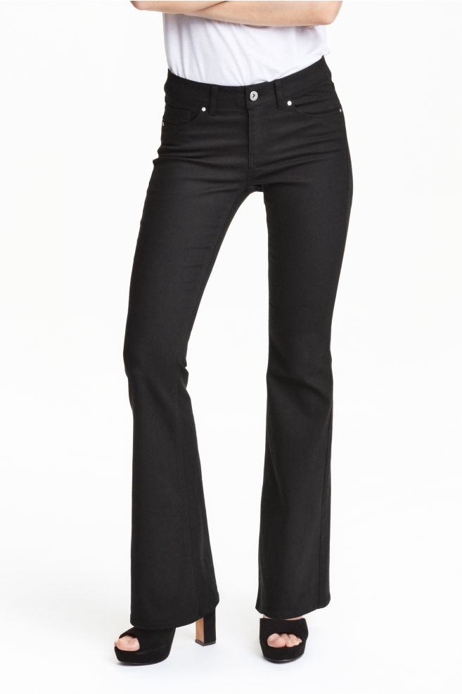 35835f0982 Flare Superstretch Jeans - Negro -