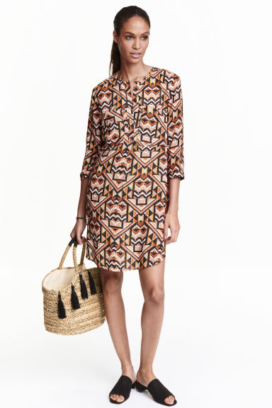 Straw shopper - Natural - Ladies | H&M GB