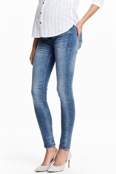 MAMA Shaping Skinny Jeans - Denim blue - Ladies | H&M GB