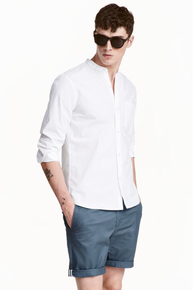 quality design e28fc 47f7c Camicia colletto alla coreana