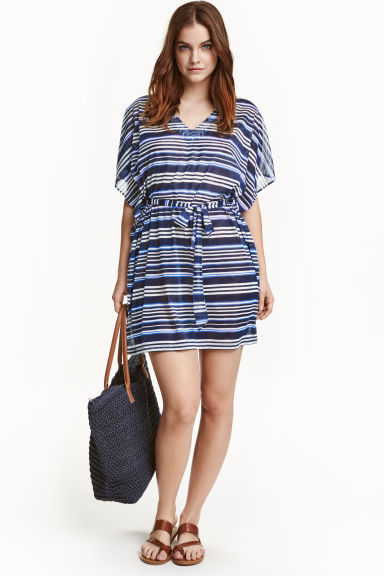 Shopper - Dark blue - Ladies | H&M GB