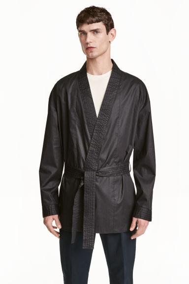 negozio online c8ce1 e3a12 Camicia cotone modello kimono
