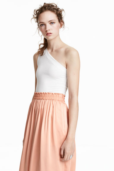 Top monospalla - Bianco - DONNA | H&M IT