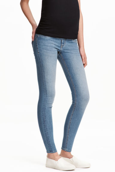MAMA Super Skinny Jeans - Denim blue - Ladies | H&M