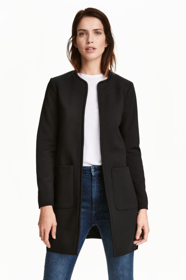 Short coat - Black - Ladies | H&M GB