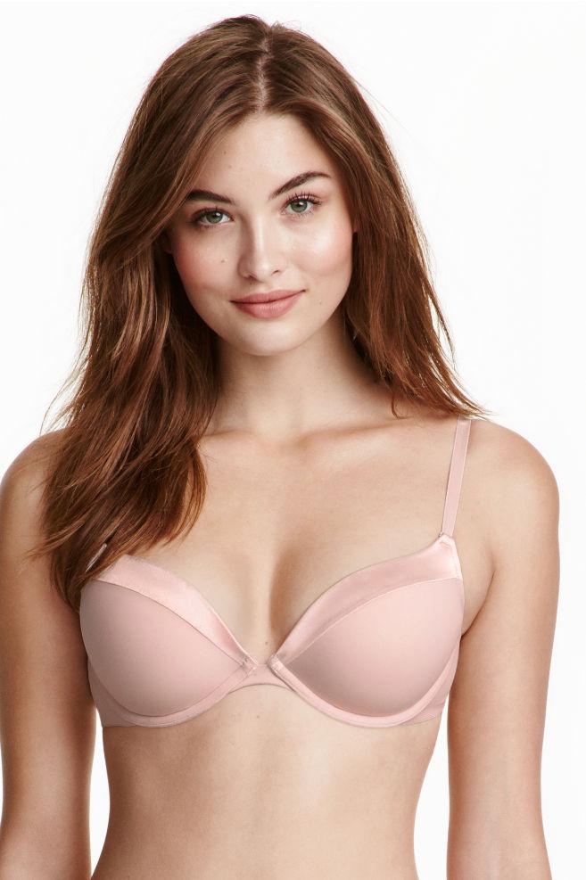 74a829b941 Soutien-gorge super push-up - Rose poudré - FEMME | H&M ...