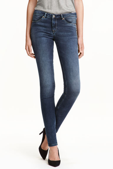 Super Soft Low Jeggings - Denim blue -  | H&M