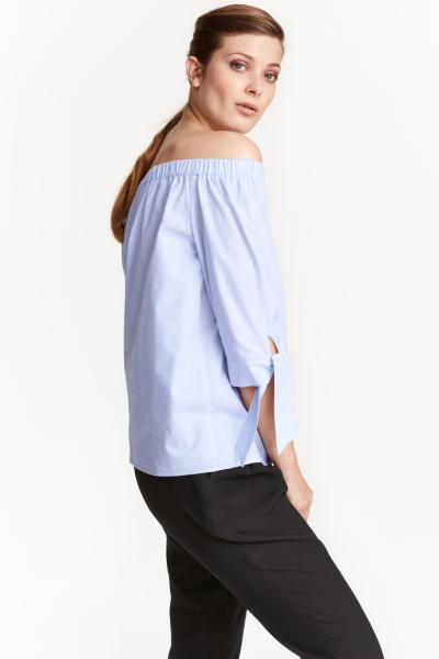 H&M - Off-the-shoulder blouse - 1