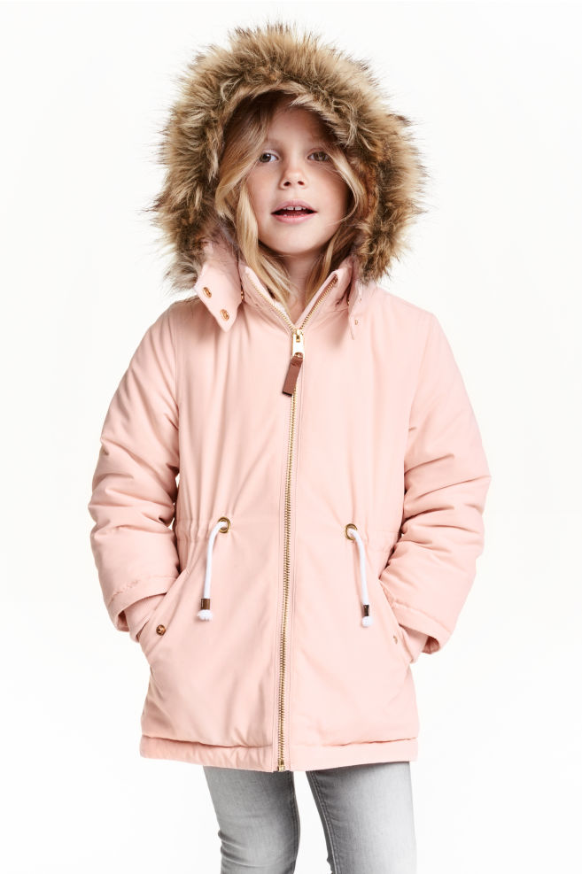 ee21a9f74298 Padded parka - Light pink - Kids