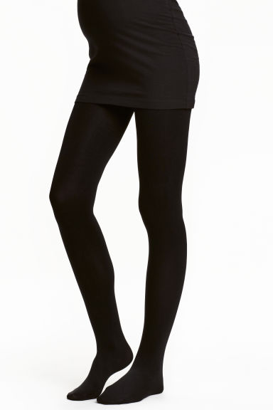 MAMA 200 denier tights - Black - Ladies | H&M CN