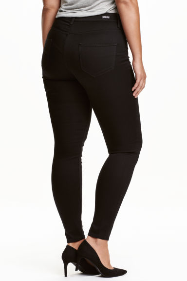 H&M+ Shaping Skinny Jeans - Black/No fade black - Ladies | H&M