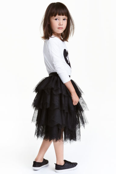 Gonna in tulle - Nero - BAMBINO | H&M IT