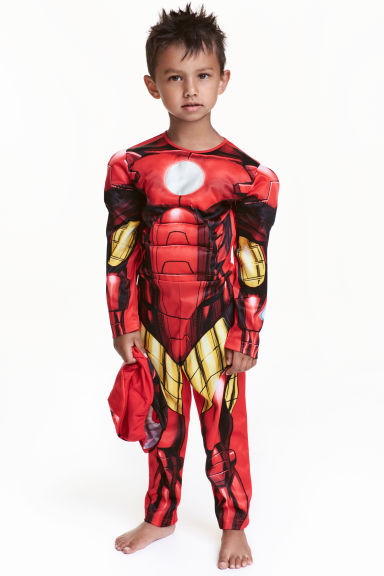 Superhero costume - Red/Iron Man - Kids | H&M GB