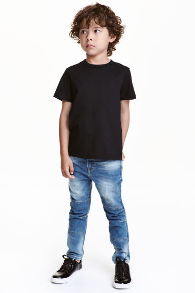 Skinny Fit Jeans rinforzati - Blu denim - BAMBINO | H&M IT