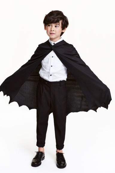 Bat cape - Black - Kids | H&M GB
