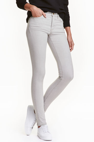 Shaping Skinny Regular Jeans - Hellgrau -  | H&M DE