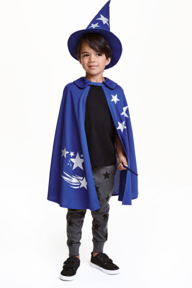 Wizard fancy dress costume - Blue/Wizard - Kids | H&M GB