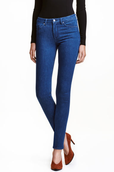 Slim Regular Jeans - Denimblauw - DAMES | H&M NL
