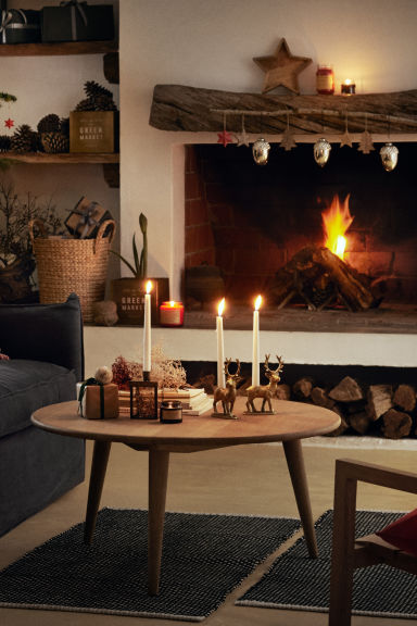 Décorations de Noël, lot de 2 - Argenté - HOME | H&M BE