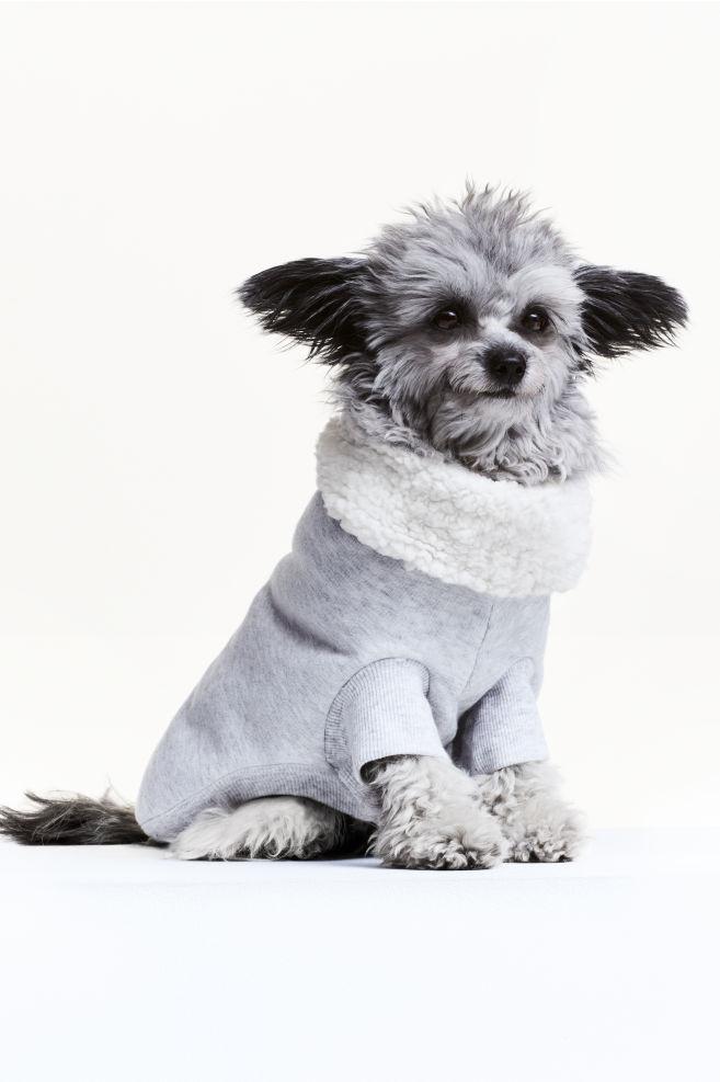34d1866bc175 Cappottino per cani - Grigio chiaro mélange - DONNA