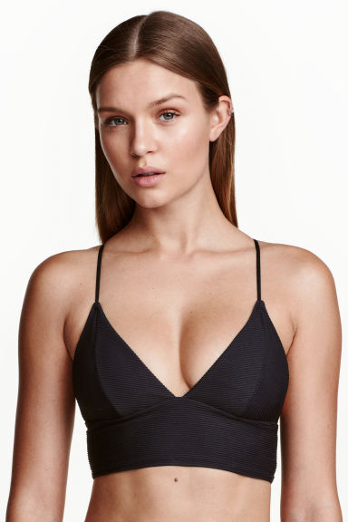 Bikini top - Black - Ladies | H&M