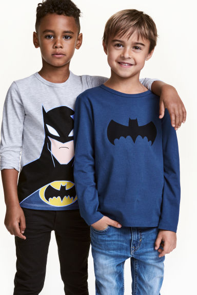 Lot de 2 T-shirts - Gris/Batman -  | H&M CA