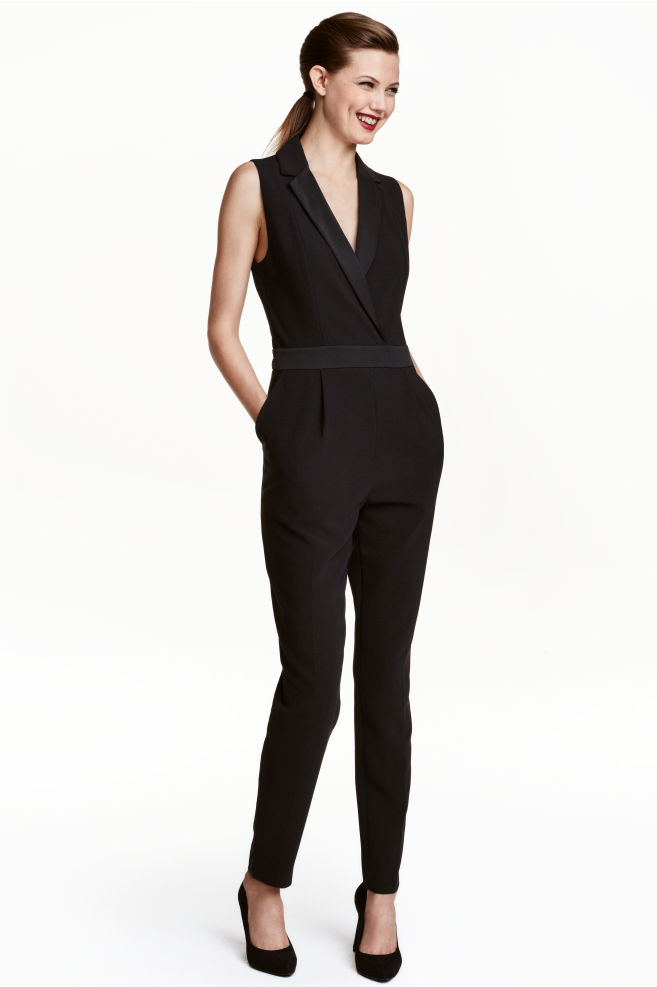 6e5e33ed89 Elegáns overál - Fekete - NŐI | H&M ...