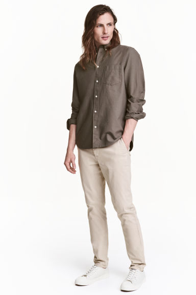 Chino Skinny fit - Beige clair - HOMME | H&M CH