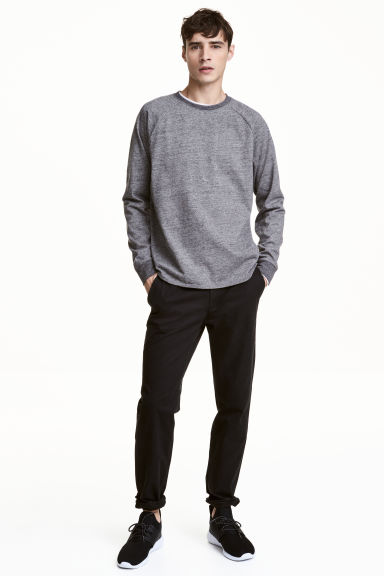 Chino Slim fit - Noir -  | H&M FR
