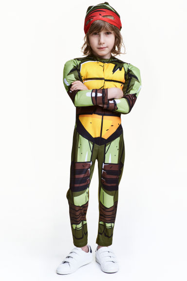 Costume da supereroe - Verde/Turtles - BAMBINO | H&M IT