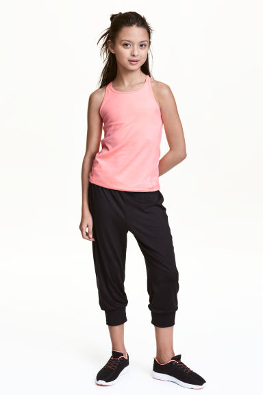 3/4-length sports trousers - Black -  | H&M