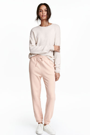 Joggers - Powder pink - Ladies | H&M IE