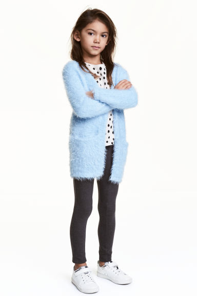 Knitted cardigan - Light blue - Kids | H&M CN