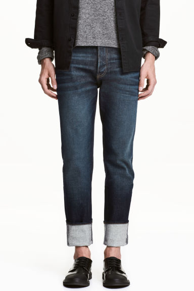 360° Tech Stretch Jeans - Dark denim blue - Men | H&M