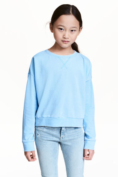 Sweat - Bleu - ENFANT | H&M FR