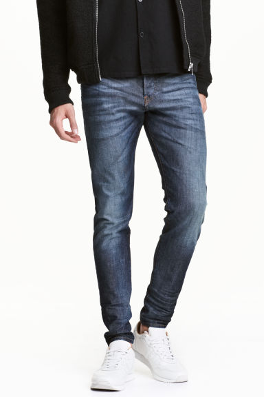 Relaxed Skinny Jeans - Dunkelblau -  | H&M CH