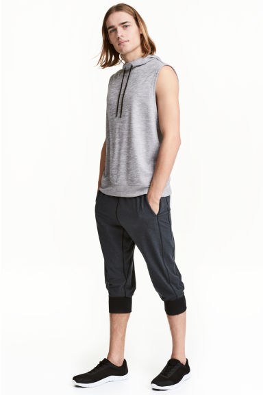 運動長褲 - Dark grey marl - Men | H&M