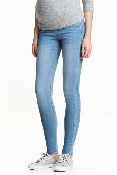 MAMA Super Skinny Jeans - Blu denim chiaro - DONNA | H&M IT
