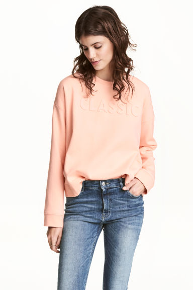 Sweatshirt - Powder pink - Ladies | H&M CN