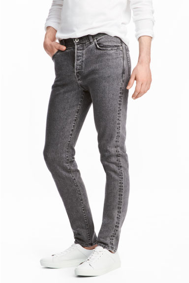 Slim Jeans - Dark grey denim -  | H&M
